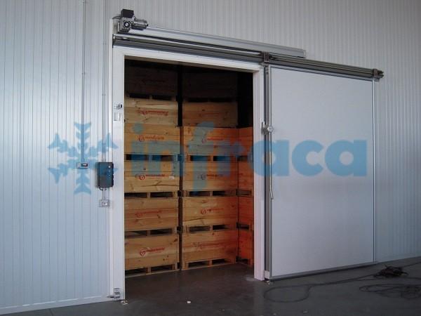 Холодильные двери с электроприводом