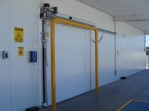 Автоматические холодильные двери Infraca