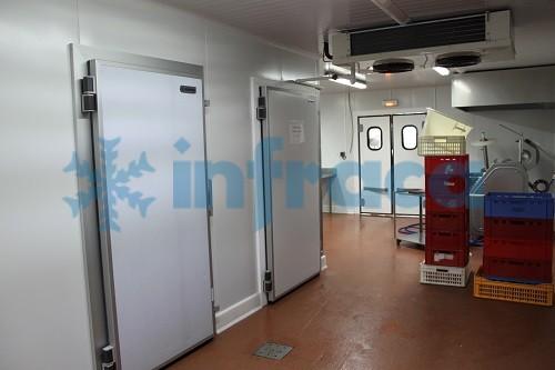 холодильные распашные двери