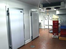 Распашные холодильные двери Infraca