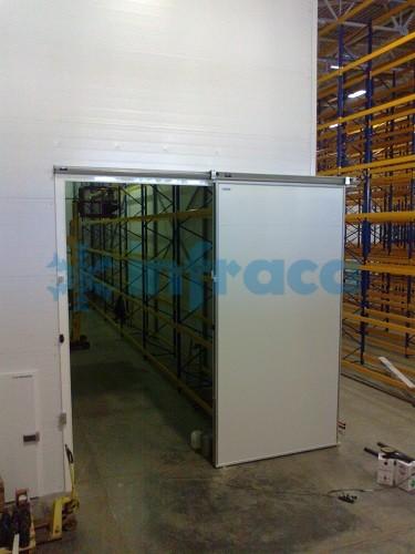 Большие холодильные двери
