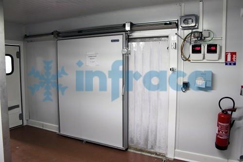 Полосовые шторы в морозильную камеру