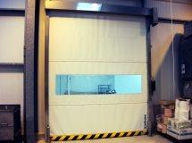 Скоростные ворота нерэавеющая сталь