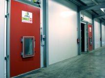 Холодильные двери Infraca для РГС, фруктохранилищ