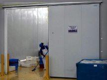 Откатные двери Infraca для складов, фото, цены