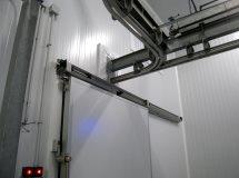 Двери Infraca для подвесных путей