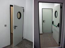 Противопожарные технологические двери Infraca