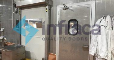 Как повысить уровень гигиены на производстве при эксплуатации дверей и ворот