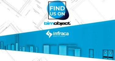 Мы разместили BIM каталоги продукции на портале Bimobject