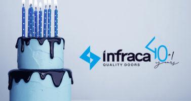 Компания Infraca отмечает 40-летие